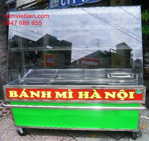 Tủ bán bánh mỳ đẹp giá rẻ hcm